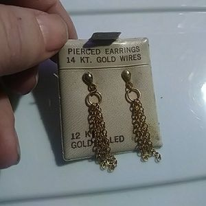 14k/12k earrings!